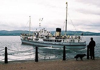 SS Shieldhall - Image: SS Shieldhall 2005c