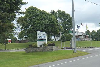 State University of New York at Canton - The entrance