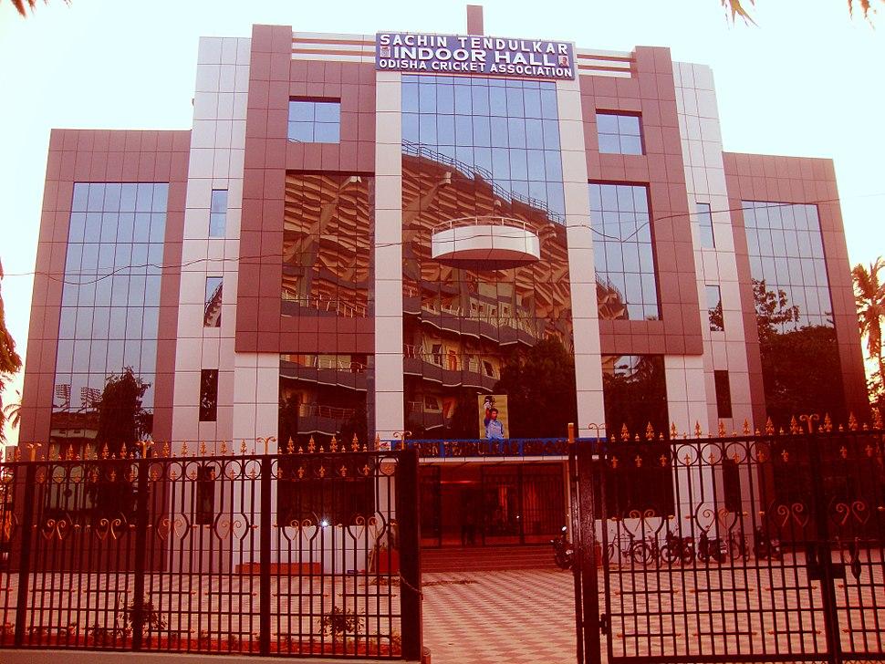 Sachin Tendulkar Indoor Hall at cuttack