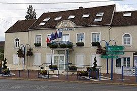 Das Rathaus in Saint-Fargeau-Ponthierry