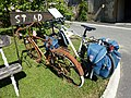 Saint-Loup-Terrier (Ardennes) old bicyclerack still in use....JPG