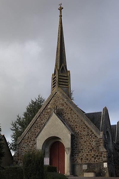 Église Saint-Mervon de Saint-M'Hervon.