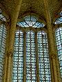 Saint-Martin-aux-Bois (60), église Saint-Martin, vitrail de la baie n° 0 1.JPG