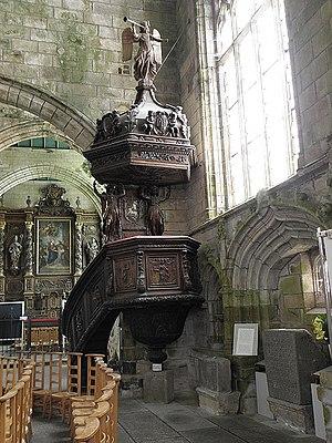 Kreisker chapel - The Kreisker chapel pulpit
