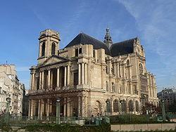 L église Saint-Eustache où est inhumé Rameau