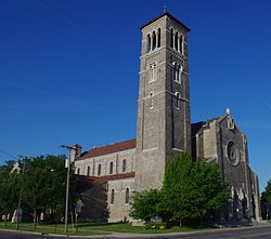 Saint Martin de Porres Catholic Church (Toledo, OH) - exterior.jpg