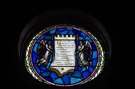Saint Paul Church (Westerville, Ohio) - Angel room, Jesus Loves Me.JPG
