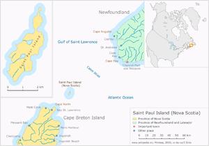 St. Paul Island (Nova Scotia) - Saint Paul Island (Nova Scotia)