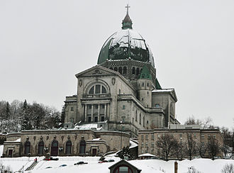 Congregation of Holy Cross - St. Joseph's Oratory in Montreal, Quebec, Canada.