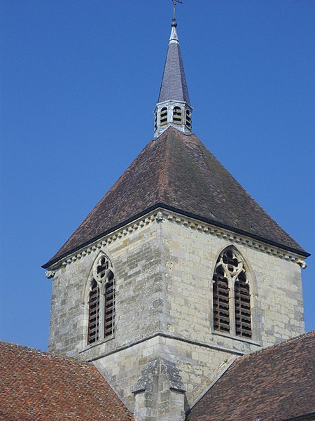 Our Lady church of Sainte-Menehould (Marne, France), tower