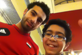 Salah with a fan.PNG