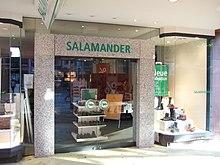 half off 02ae7 62e5f Salamander (Schuhe) – Wikipedia