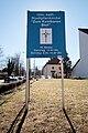 Salzburg - Parsch - Pfarrkirche Parsch Tafel - 2019 02 27.jpg
