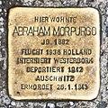 Salzburg - Stolperstein Morpurgo Abraham - Rainerstraße 15 = Prodingerstraße 19.jpg