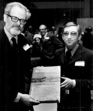 Samuel Schoenbaum - Samuel Schoenbaum (left)