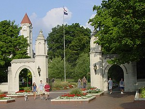 Sample Gates, Indiana University Bloomington, USA
