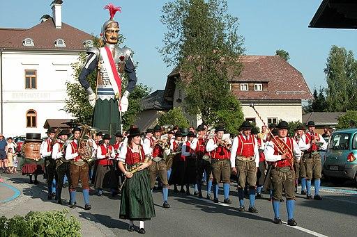 Samsontragen in Mariapfarr (Immaterielles Welterbe im Salzburger Land)