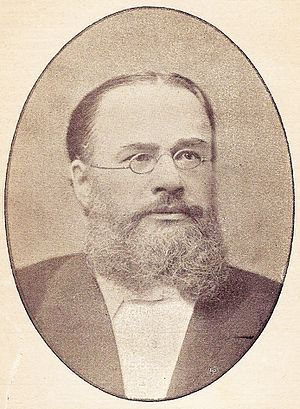 Samuel Cox (minister) - Samuel Cox. Picture used with kind permission of the Angus Library and Archive, Regent's Park College.