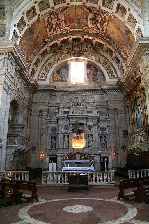 Chiesa di San Biagio, interno