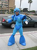 Cosplay de Mega Man.