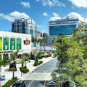 Guaynabo's Central Business District in 2013.
