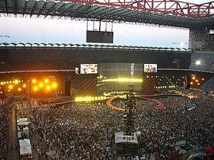 Concerto del 21 luglio 2005 a Milano (San Siro).