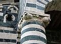 San michele di murato, facciata, con rilievi del 1140 ca. 06.jpg