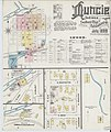 Sanborn Fire Insurance Map from Muncie, Delaware County, Indiana. LOC sanborn02433 003-1.jpg