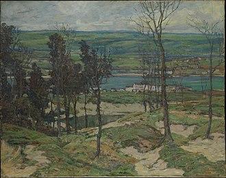 Walter Elmer Schofield - Sand Dunes near Lelant, Cornwall (1905), Metropolitan Museum of Art