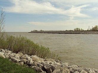 Sandy Creek (Michigan) - Image: Sandy Creek Lake Erie