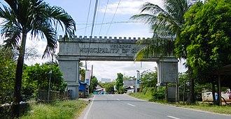 San Luis, Pampanga - Welcome Arc
