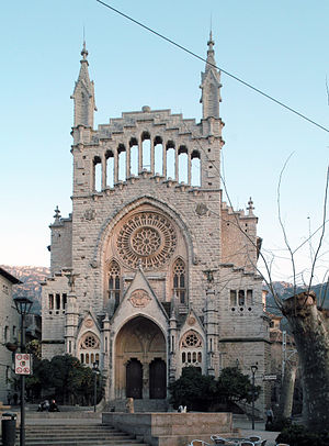Sóller - Sant Bartomeu Church
