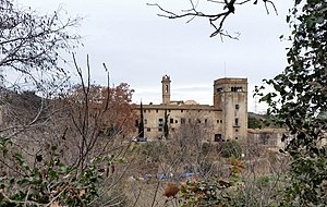 Badalona - Monastery of Sant Jeroni de la Murtra
