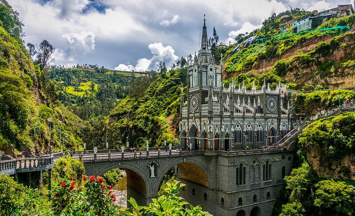 Bazylika Las Lajas Wikipedia Wolna Encyklopedia