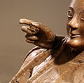 Sarcofago degli sposi, produzione etrusca di influenza ionica, 530-520 ac ca., dalla banditaccia 07 mano.jpg