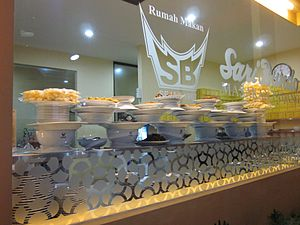 Rendang - Padang restaurants found across the region have increased the popularity of rendang