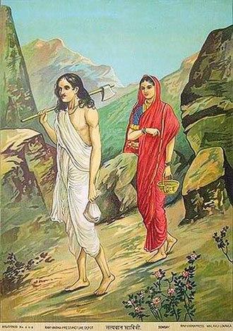 Savitri and Satyavan - Satyavan Savitri
