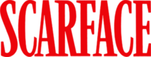 Scarface movie red logo.png