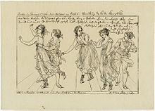 Maria und Salvatore Viganò in der Oper Il trionfo d'Arianna (Berlin, Januar 1796) (Quelle: Wikimedia)