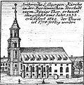 Schleuen - Luthersiche S.Georgen-Kirche 1757.jpg