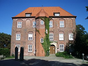 Horneburg - 17th-century Agathenburg Castle which is now a museum and cultural venue