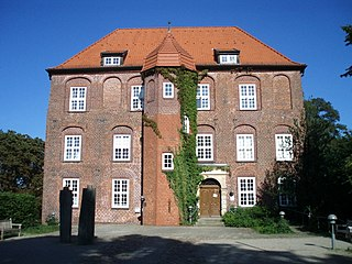 Horneburg Place in Lower Saxony, Germany