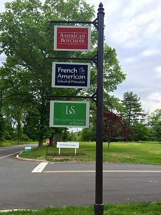 Plainsboro Township, New Jersey - The campus of the former St. Joseph's Seminary is home to a number of private schools