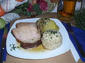 Schweinsbraten on plate.JPG