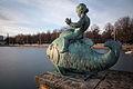 Sculpture Fish Maschsee Hanover Germany.jpg