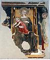 Scuola romagnola, madonna col bambino e santi, 1383.JPG