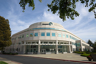 Seagate Technology - Seagate Technology headquarters in Cupertino, California