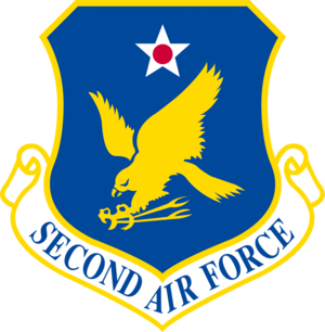 Second Air Force - Shield of the Second Air Force