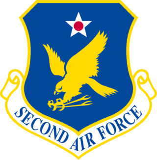 Second Air Force Numbered air force of the United States Air Force responsible for non-flying training