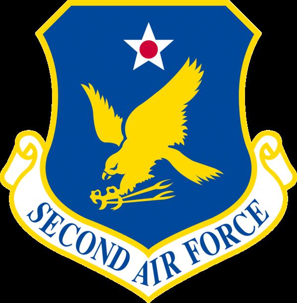 Second Air Force - Emblem (USAF)
